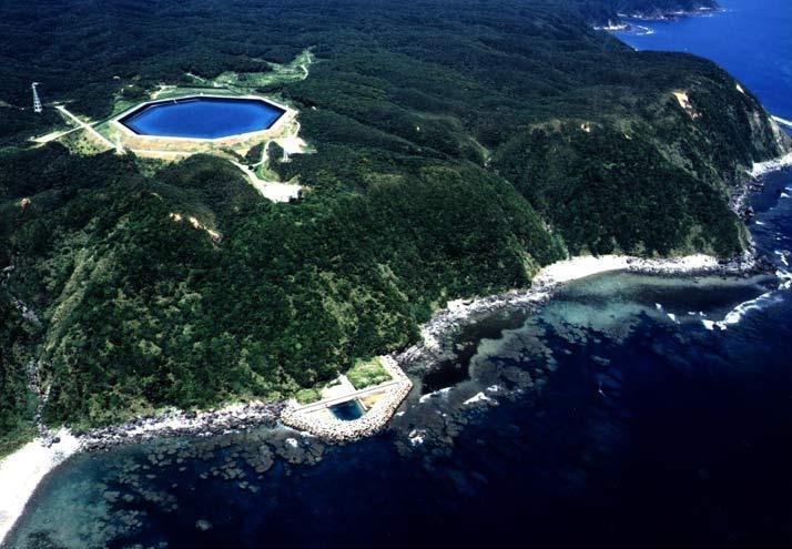 Meerwasserpumpspeicherkraftwerk in Okinawa